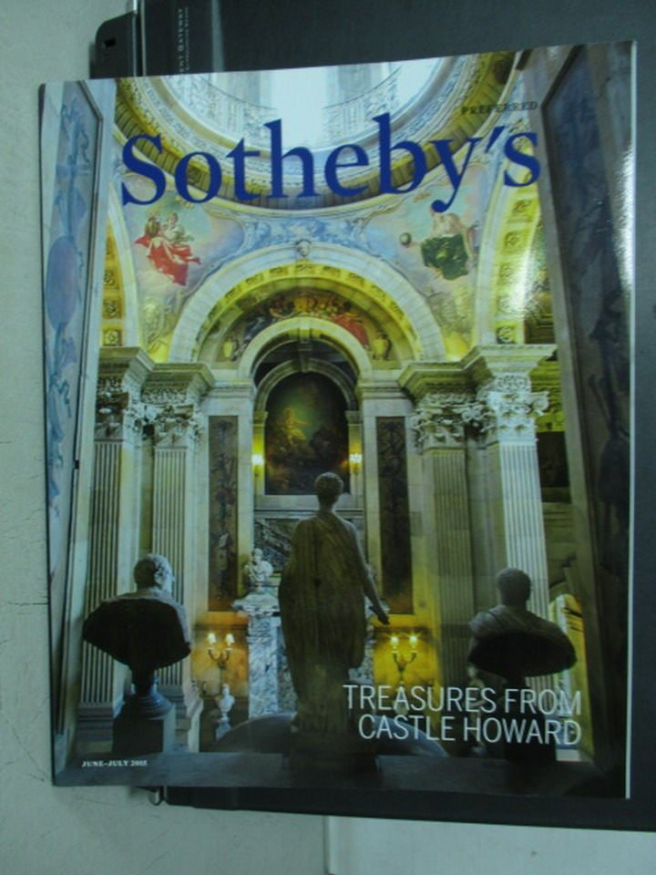 【書寶二手書T2/收藏_XBV】Sotheby's_2015/6-7_Castle Howard等