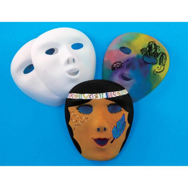 【華森葳兒童教玩具】美育教具系列-空白兒童面具 L1-AP/652/FMP