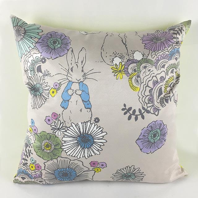 《Annie's Friends》Peter Rabbit 比得兔麂皮抱枕腰枕組【雙面和風】