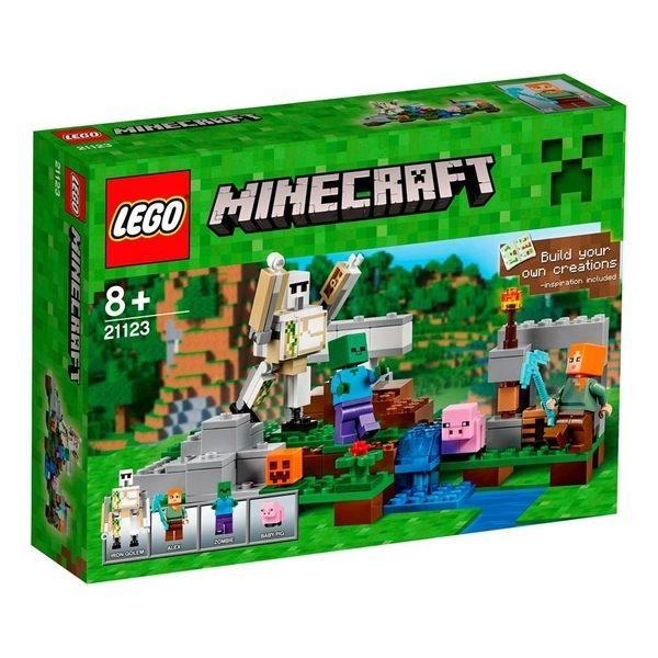 【LEGO 樂高積木】Minecraft 創世神系列 - The Iron Golem LT-21123