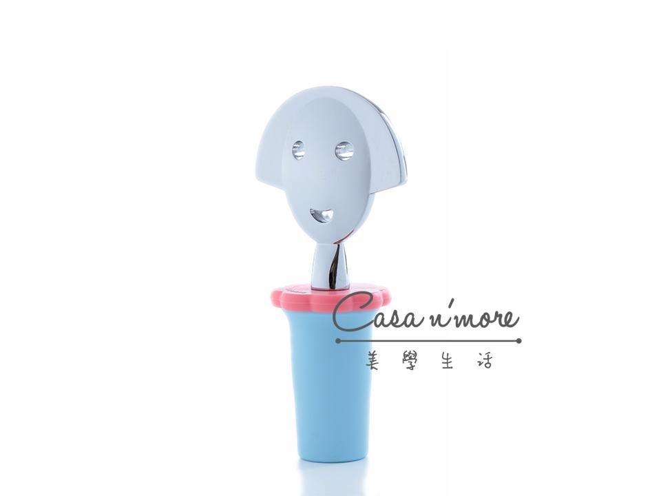 Alessi Anna-G安娜酒塞,藍色,Alessi原廠禮盒包裝