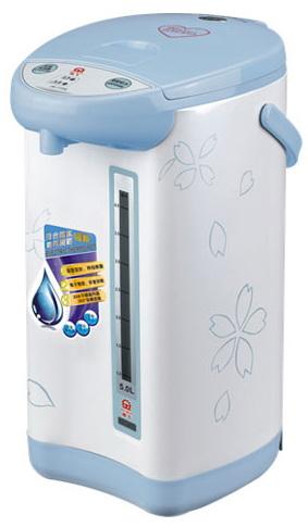 ✈皇宮電器✿晶工5.0L(電動+碰杯)熱水瓶JK-7150 #304不鏽鋼內膽 防乾燒 過熱保護裝置
