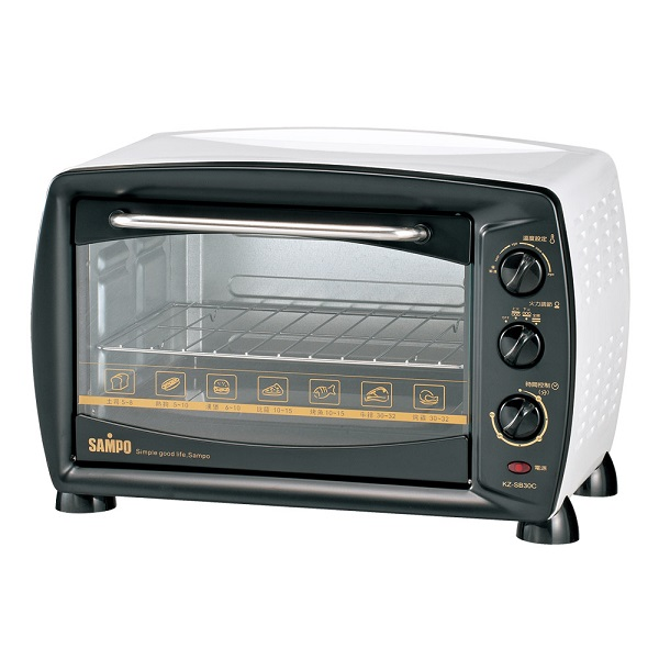 ◤A級福利品‧數量有限◢ SAMPO 聲寶 30公升旋風大烤箱 KZ-SB30C