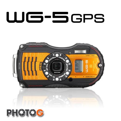 Ricoh PENTAX WG5 / WG-5  GPS   防水 防塵 防摔 數位相機 【送32G+清潔組+漂浮手腕帶+副電+座充+原廠相機包】(富堃公司貨, WG4 後繼機)
