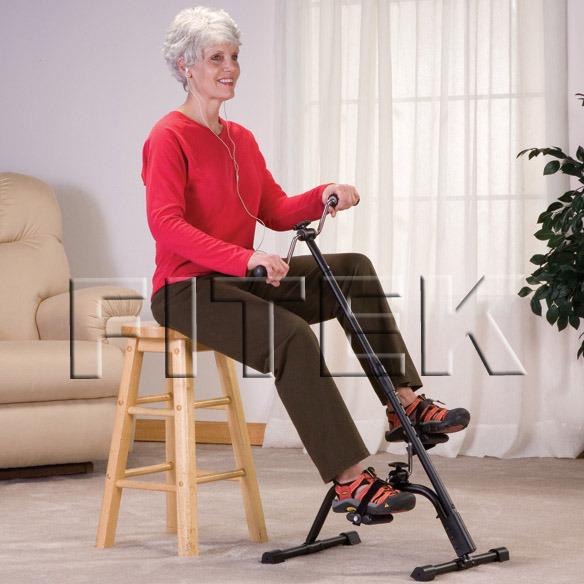【Fitek健身網☆手腳健身車】☆手腳並用腳踏器☆踏板練習器☆手臂、腳部運動☆銀髮族適用㊣台灣製