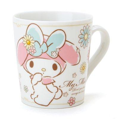 【真愛日本】15081400008馬克杯-MM花 三麗鷗家族Melody 美樂蒂 馬克杯 水杯 茶杯 杯子 下午茶杯