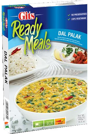Gits Dal Palak 紅扁豆仁+ 菠菜即食調理包