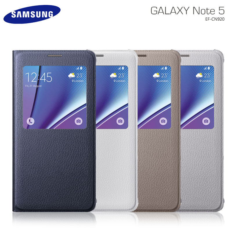 Samsung Galaxy NOTE 5 N9208 專用 原廠 皮革透視感應皮套/視窗保護套/免翻蓋接聽/休眠保護套/背蓋/保護殼/東訊公司貨