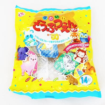 【敵富朗超巿】Ace-Bakery可愛動物園水果果凍 210g(賞味期限至2016.11.18)