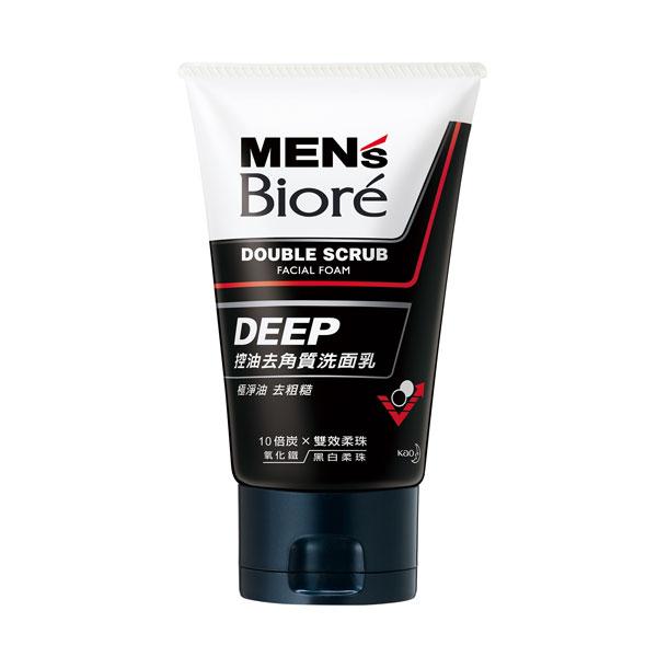 *優惠促銷*MENS Biore控油去角質洗面乳100g《康是美》
