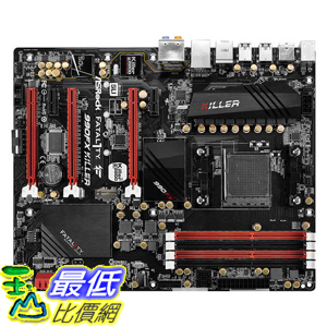 [104美國直購] New ASROCK FATAL1TY 990FX KILLER Socket AM3+/ AMD 990FX/ DDR3/ Quad CrossFireX