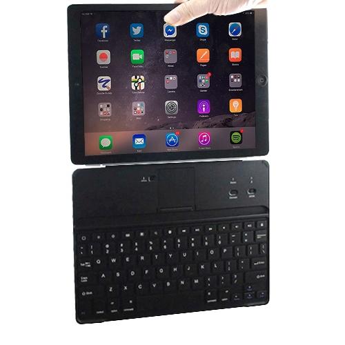 iPad Air/Air 2/Pro (9.7吋)專用磁條式藍牙鍵盤/保護蓋