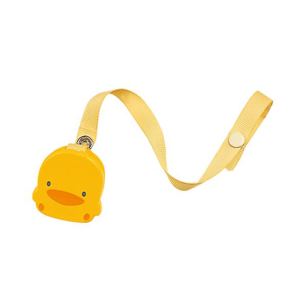 『121婦嬰用品館』黃色小鴨 造型奶嘴鍊