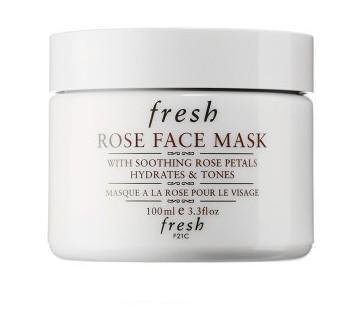 玫瑰保濕面膜 法國專櫃Fresh 限定 Rose Mask 100ml 純天然成份 保養  Q彈 水嫩 水潤 敏感皮膚亦適用 擊退暗沉 趕走黑面《ibeauty愛美麗》