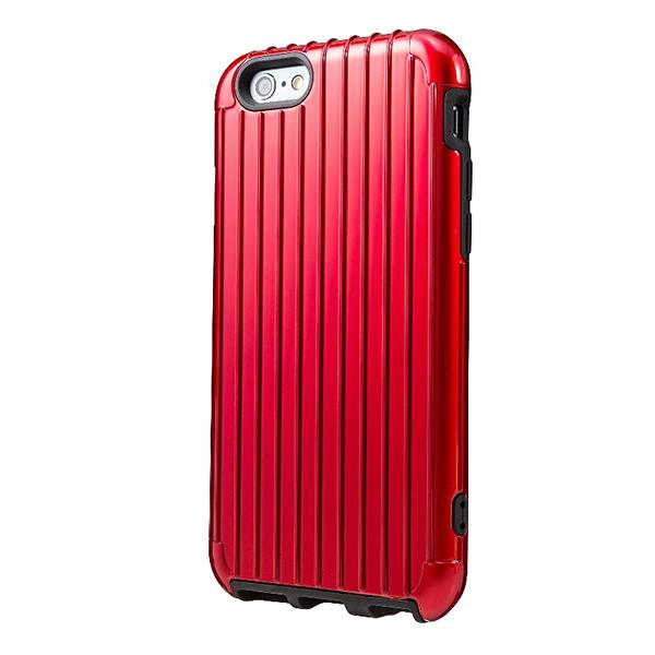 iPhone 6 行李箱手機殼 RIMOWA行李箱激似款 經典紅 防水保護殼 防摔保護套 登機箱 質感好 《ibeauty愛美麗》