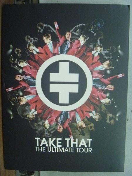 【書寶二手書T2/藝術_HML】Take That_The Ultimate Tour
