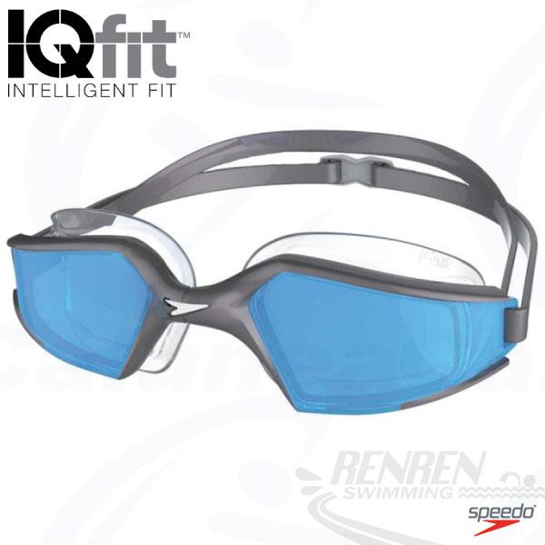 SPEEDO 成人進階泳鏡Aquapulse Max 2(銀*藍)