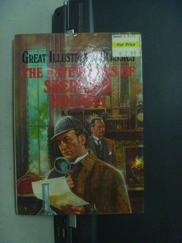 【書寶二手書T3/原文小說_ONK】The Adventures of Sherlock Holmes