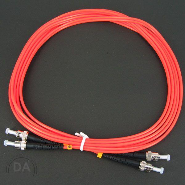 《DA量販店》Multimode Patch Cord 光纖跳線 雙心多模 3M ST-ST DMM (34-240)