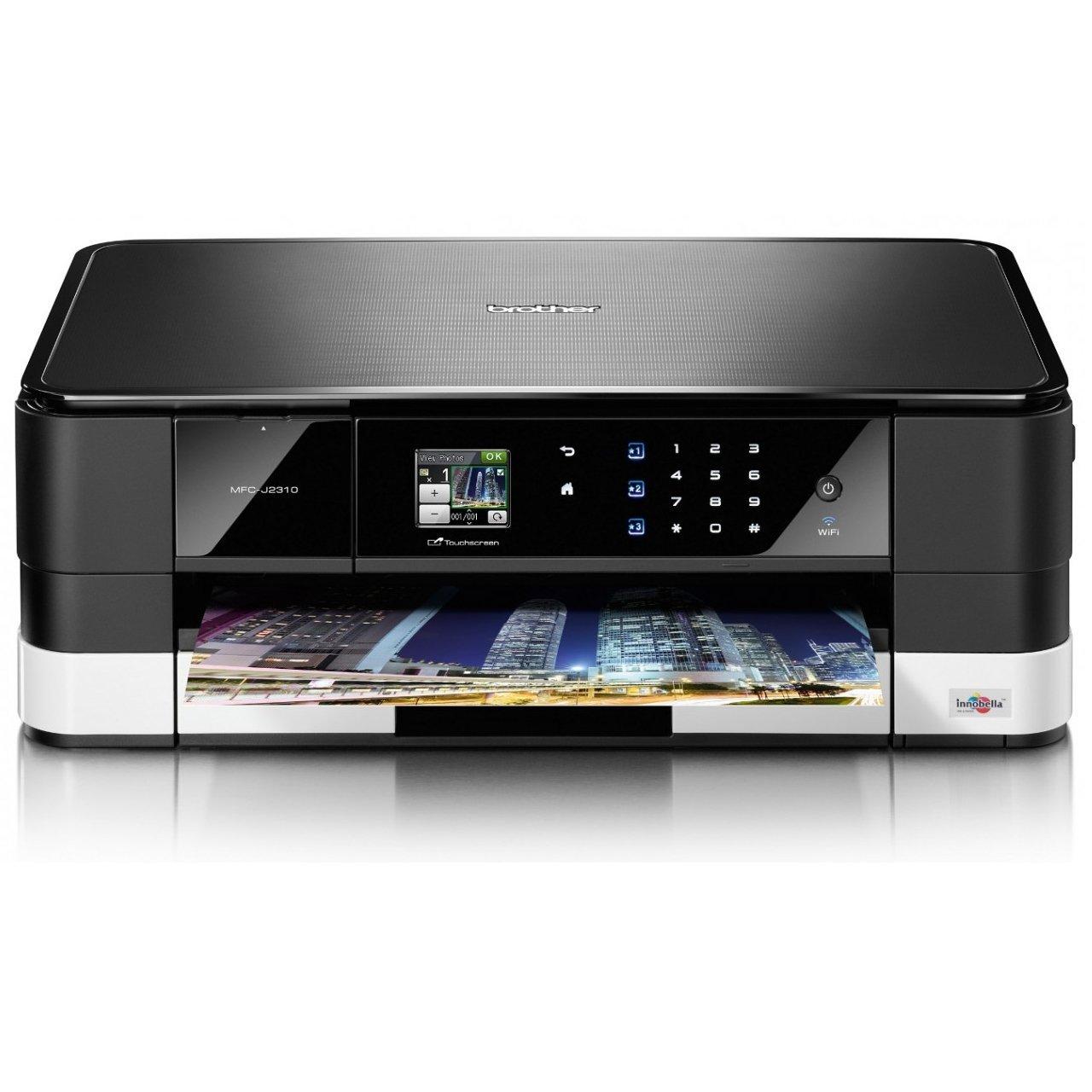 *╯新風尚潮流╭*Brother MFC-J2310 InkBenefit 多功能A3+傳真複合機 獨特橫向列印技術 MFC-J2310