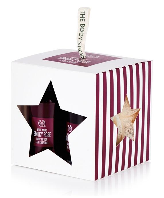【彤彤小舖】The Body Shop 紫玫麝香迷你原裝禮盒 三件式 乳液 沐浴 沐浴球
