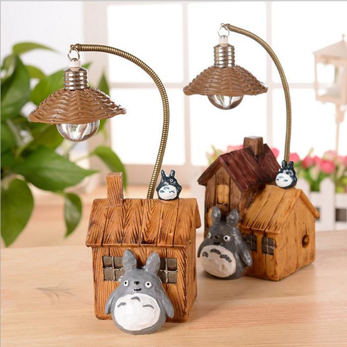 tangyizi輕鬆購【DS093】創意個性卡通龍貓小夜燈桌燈檯燈交換禮物生日禮物