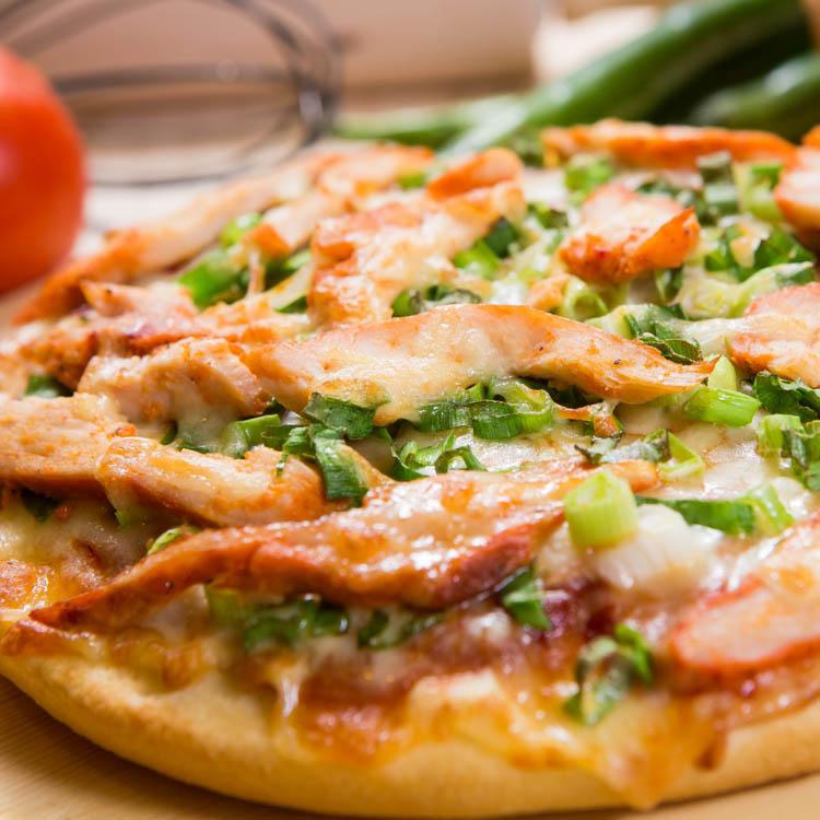 【法羅烤箱現作手工披薩】《鮮蔥紐澳良雞pizza》