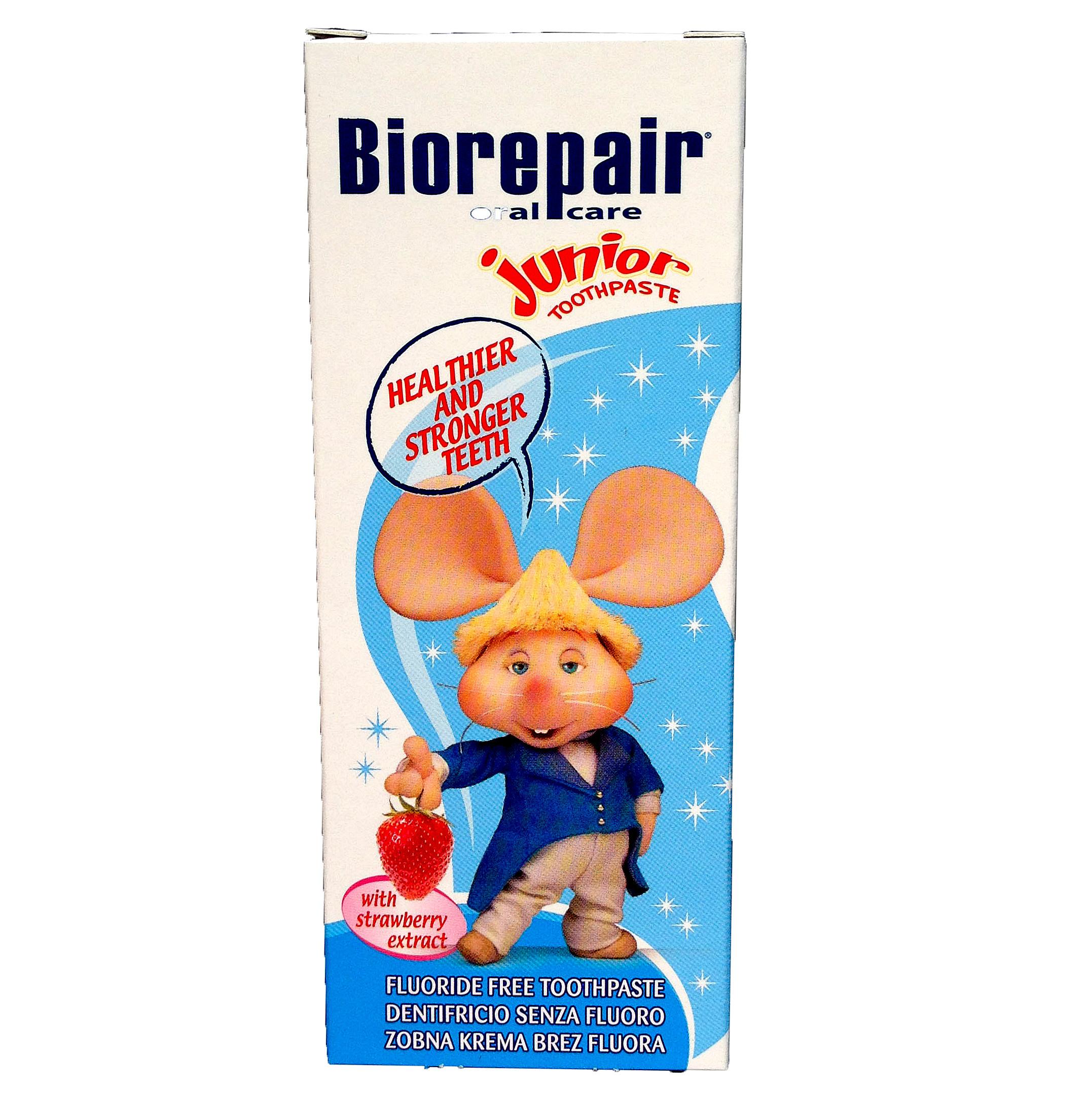 Biorepair   貝利達兒童牙膏(50ml)草莓口味    6條以上免運費