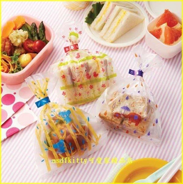 asdfkitty可愛家☆日本MSA 大象 小鴨 無尾熊塑膠袋/點心袋/包裝袋-裝麵包.餅乾.糖果-日本正版
