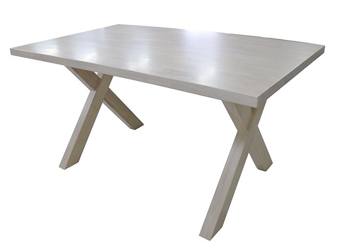 【尚品家具】 242-10 交叉腳5尺餐桌 (另有6尺) 橡木實木餐桌/居家團圓桌/圍爐桌/飯店桌/餐館桌
