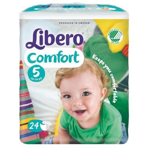 ★衛立兒生活館★麗貝樂 Libero 嬰兒紙尿褲XL 5號-24片x8包(尿布)