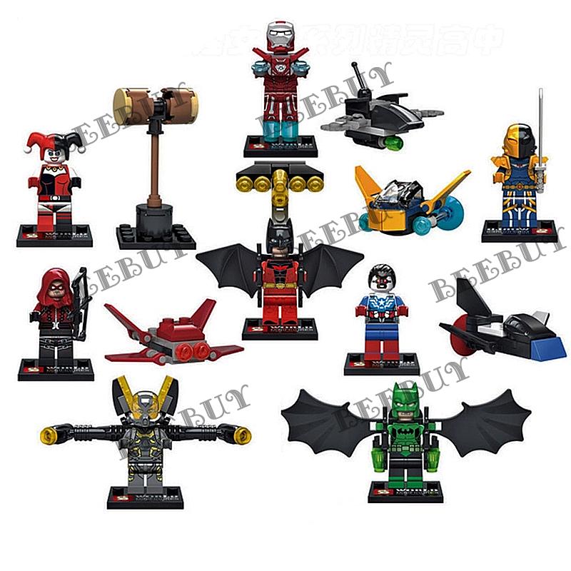 sy積木 sy295超級英雄 一組八款 兼容樂高 另有旋風忍者