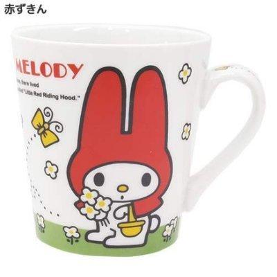 【真愛日本】15081400007馬克杯-MM紅   三麗鷗家族Melody 美樂蒂 馬克杯 水杯 茶杯 杯子 下午茶杯
