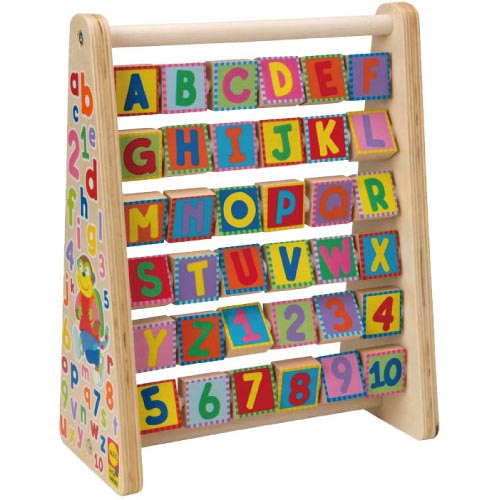 【奇買親子購物網】美國ALEX ABC&123轉轉算盤