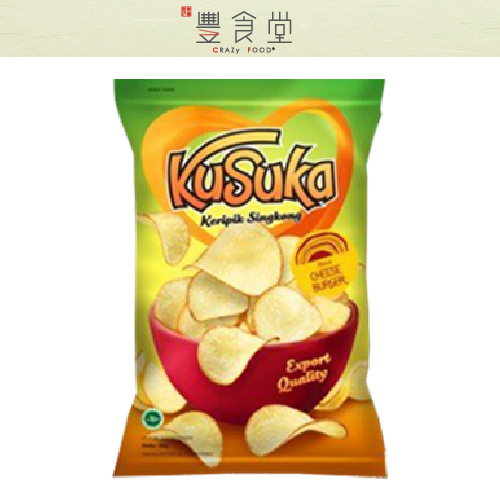 印尼KUSUKA樹薯脆片180g