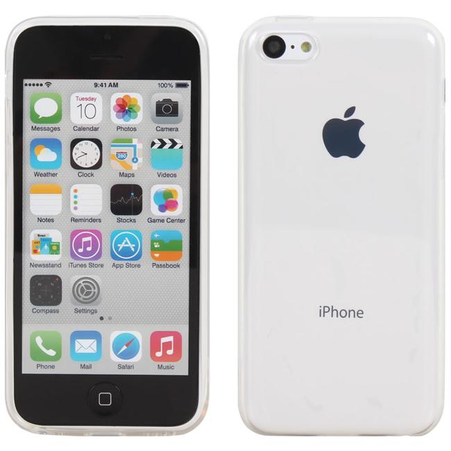 Ultimate- iPhone 5C 清新全透軟質手機外殼防摔抗震後背蓋保護殼 清水套 透明殼 透明軟殼