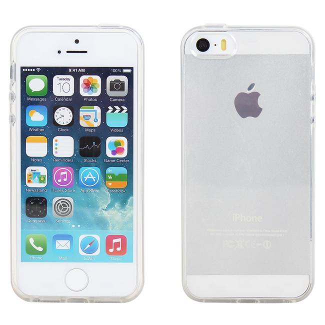 Ultimate- iPhone 5/5S/ iPhone SE 清新全透軟質手機外殼防摔抗震後背蓋果凍套 保護套 軟殼 保護殼 手機殼  iPhone SE
