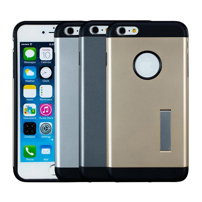 Ultimate- iPhone6 時尚輕甲雙件雙料可立手機殼 空壓技術防撞保護殼 保護套  非SGP