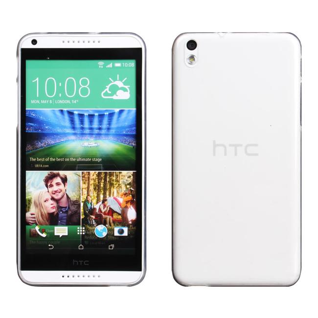 Ultimate- HTC Desire 816 超薄全透點紋軟質手機外殼防摔背蓋保護套 TPU透明軟殼 保護殼 手機殼