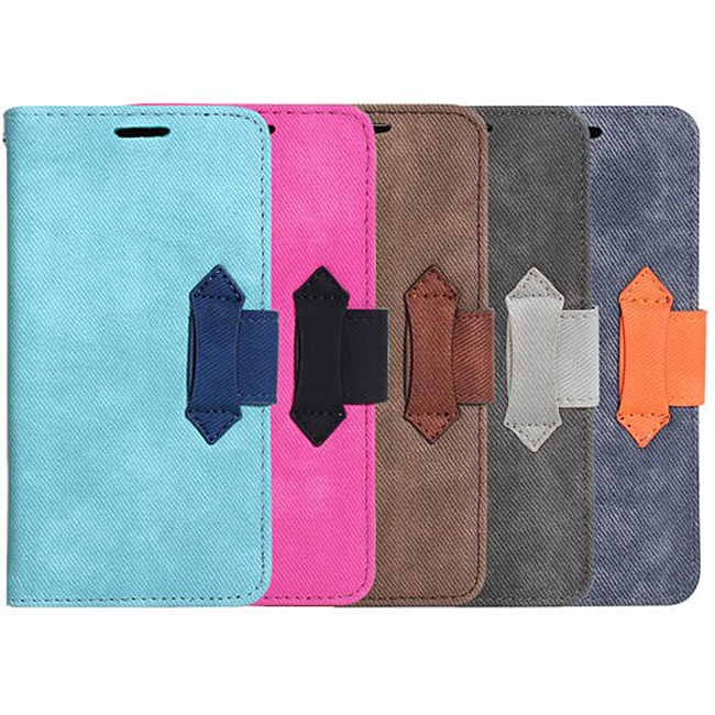 Ultimate- HTC Butterfly (920D) 愛丹寧牛仔可立式手機皮套 側開翻蓋保護皮套 卡式支架手機包