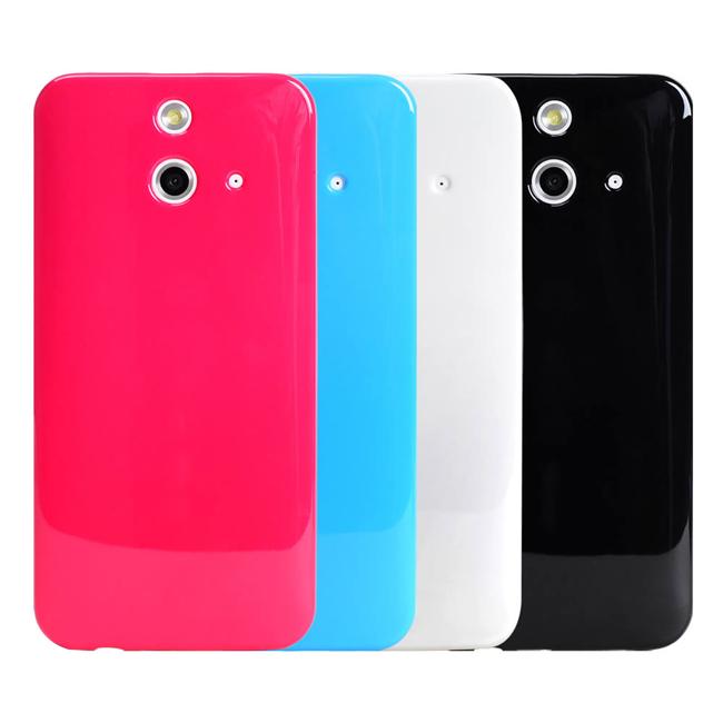 Ultimate- HTC One E8 亮麗全彩軟質手機保護套 手機殼 手機背蓋 軟質 保護套 保護殼 清水套
