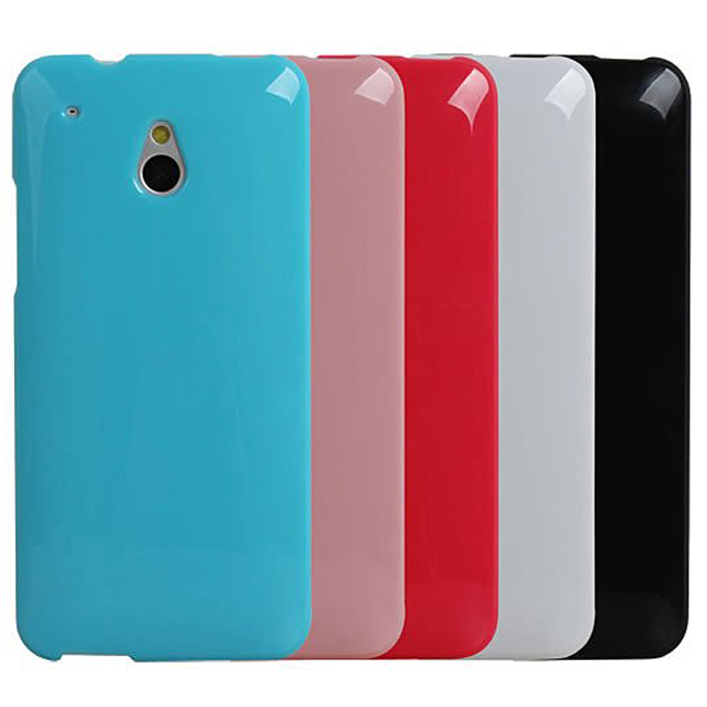 Ultimate- HTC NEW ONE mini (M4) 亮麗全彩軟質手機外殼防摔背蓋 保護殼 手機殼 保護套