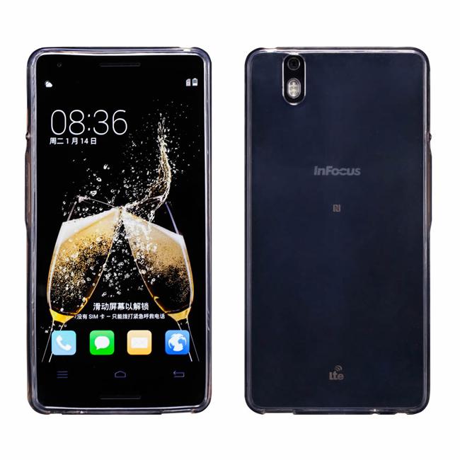 Ultimate- Infocus m810 清新全透軟質手機保護套 手機背蓋 手機保護殼 軟質 清水套 透明軟殼