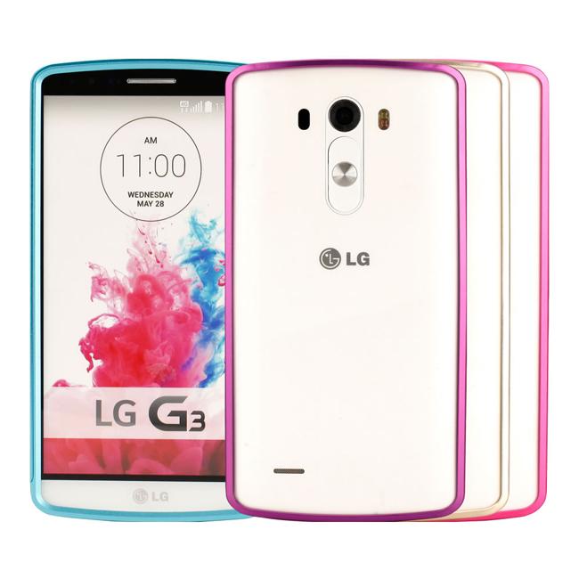 Ultimate- LG G3 (D855) 炫彩流行兩件式金屬手機外殼抗震防摔保護殼邊框/鋁邊框保護殼/超薄金屬框套