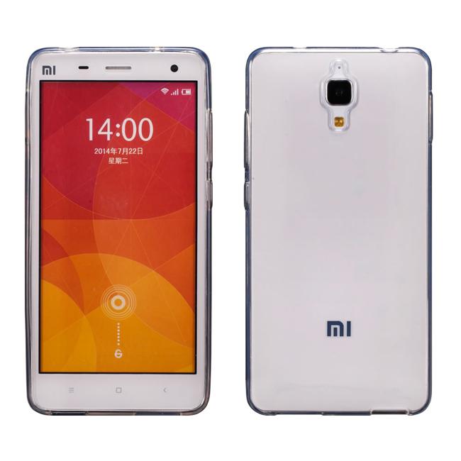 Ultimate- 小米4 清新全透軟質手機保護套 手機背蓋 手機保護殼 軟質手機殼 清水套 透明殼 透明軟殼
