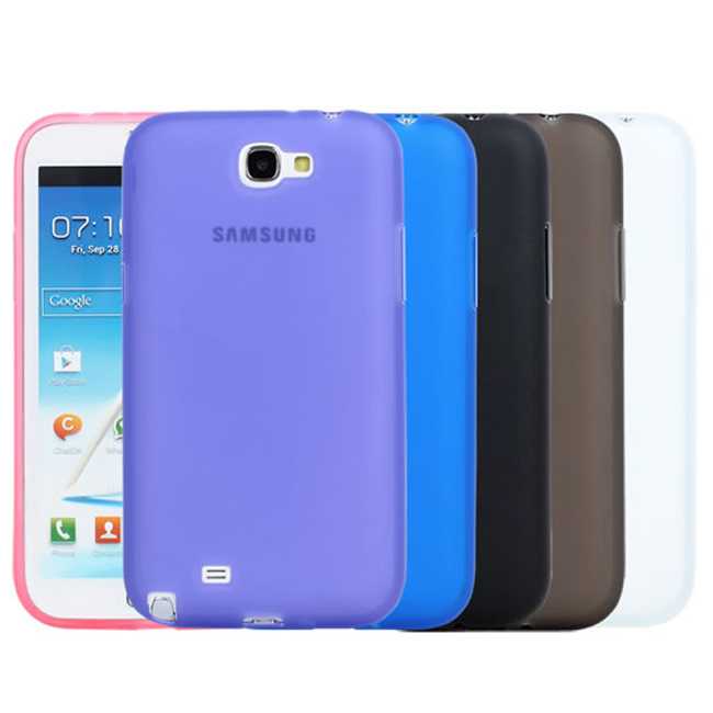 Ultimate- Samsung Note2(N7100) 輕量氣質霧面軟質三星手機果凍套 手機背蓋 保護套 保護軟殼
