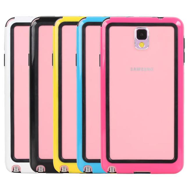 Ultimate- Samsung Note3(N9000) 流行亮彩實色保護殼邊框 邊框保護套 保護殼 三星手機殼