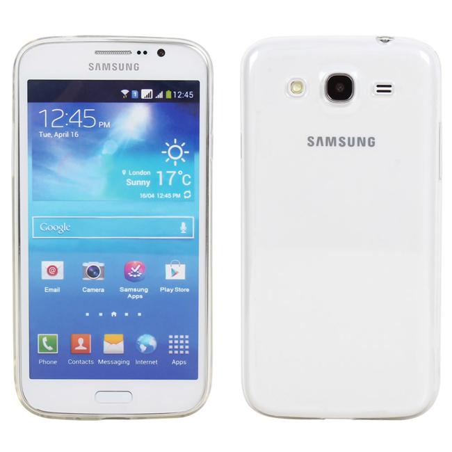 Ultimate- Samsung Mega 5.8 (i9150) 清新全透軟質手機保護套 手機背蓋 透明清水套