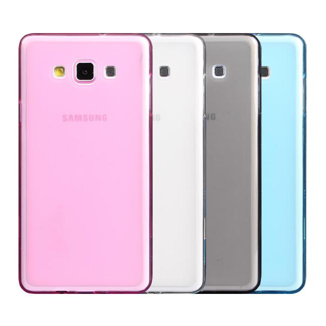 Ultimate- Samsung A7 輕量氣質霧面軟質手機防摔果凍套背蓋 保護殼 三星手機殼  保護套