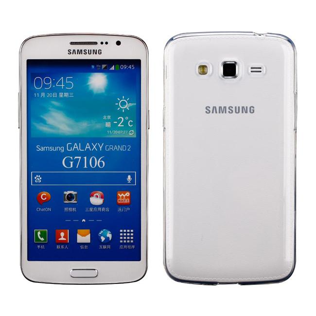 Ultimate- Samsung Grand2 (G7102) 清新透軟質三星手機果凍套防摔背蓋  保護殼 手機殼 Grand 2